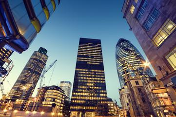 Neboderi u londonskom Cityju,