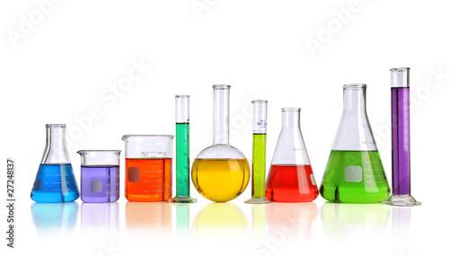 Fotografia  Laboratory Glassware