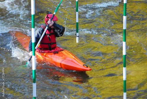Fotografía  Slalom sur la rivière