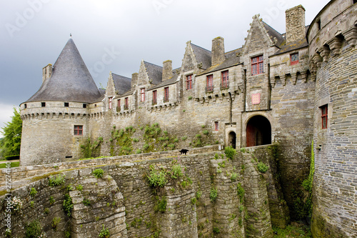 Fotomural Château de Rohan, Pontivy, Brittany, France