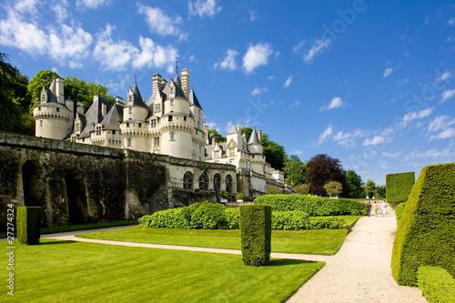 Ussé Castle, Indre-et-Loire, Centre, France Poster