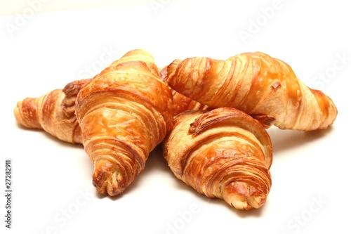 Billede på lærred croissant bio