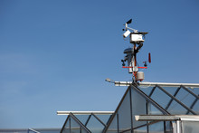 Small Hitech Meteo Station With Anemometers