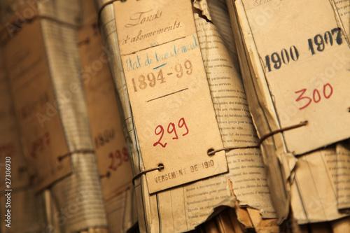 Photo archive et document