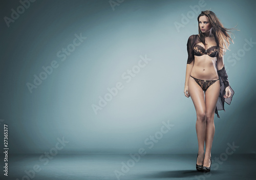 Fotografie, Obraz  sexy woman in lingerie