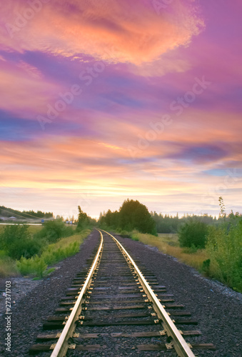 Railroad Idaho Tracks