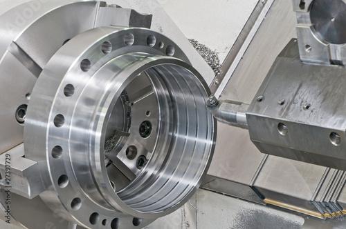 Fotografie, Obraz Fresa industriale al lavoro