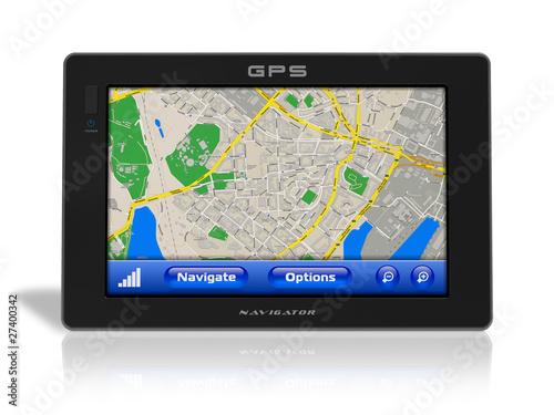 Fotografia  GPS navigator
