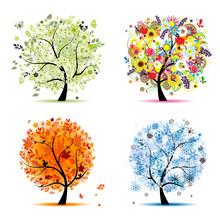 Four Seasons - Spring, Summer,...