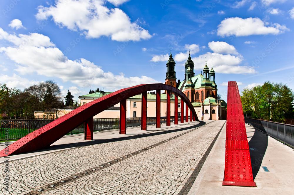 Fototapety, obrazy: Most świętego Jordana w Poznaniu