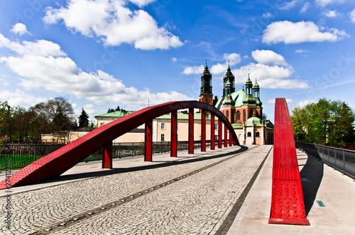 Obraz Most świętego Jordana w Poznaniu - fototapety do salonu