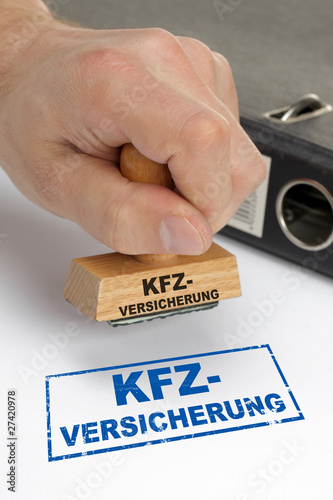 Fototapety, obrazy: Kfz-Versicherung