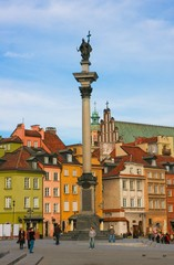 Fototapeta Miasta Замковая площадь. Варшава