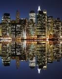 Fototapeta Nowy York - Lower Manhattan Skyline