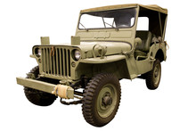 Classic Army Jeep