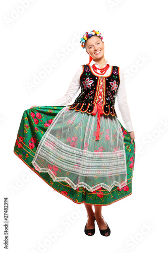 Fotografía  Traditional Polish outfit