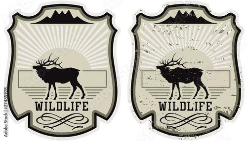 Fotografía  Wildlife park badge