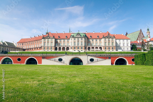 Royal Castle in Warsaw - east side #27498517