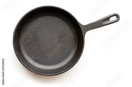 Fotografie, Obraz  Cast-iron frying pan