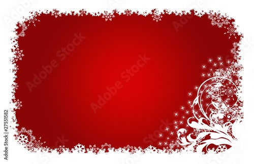 Christmas Xmas Weichnachten Sterne Blumen Rot Weiss Buy This