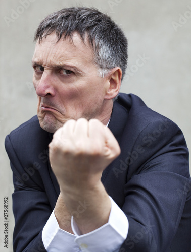 Valokuva businessman bagarreur