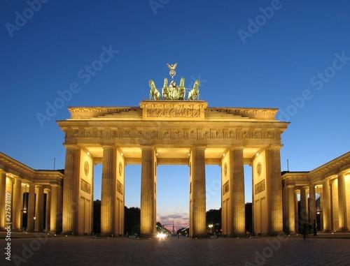 Poster Berlin Brandenburger Tor - Berlin