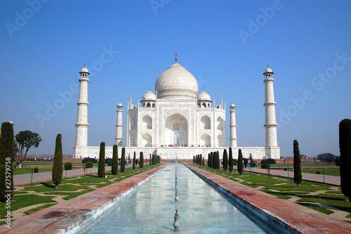 Fotografie, Obraz  Taj Mahal