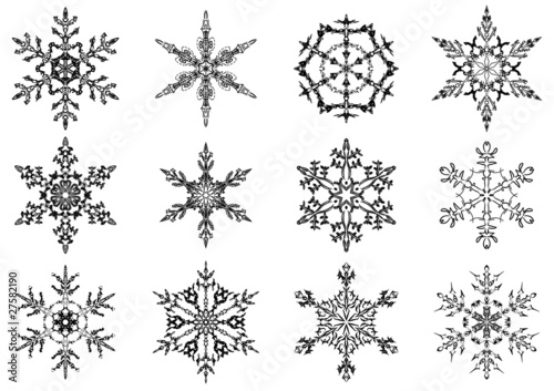 eiskristalle  schneeflocken  snowflakes  kaufen sie