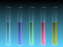 Liquid Filled Test Tubes