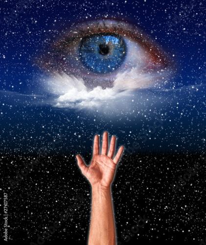 Fototapeta  l'occhio di Dio
