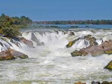 Khon Phapheng Waterfall, Champasak, Southern Of Laos