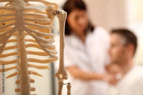 Fotografía Medizinische Untersuchung