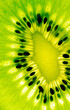 Abstract photo of a kiwi
