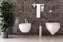 Toilette In Marmor