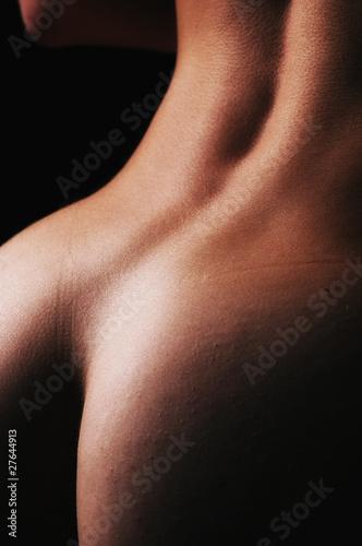 Beautiful ass of young woman over dark background Tapéta, Fotótapéta
