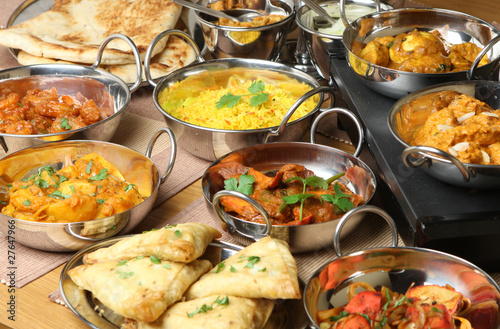 Indian Food Selection