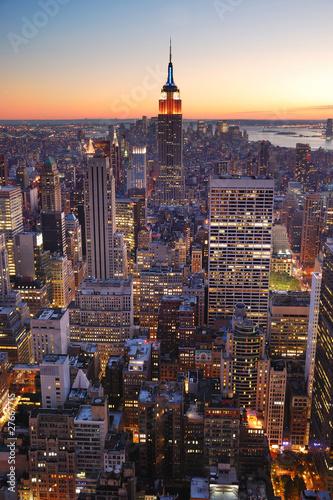 Fototapeta premium New York City Empire State Building