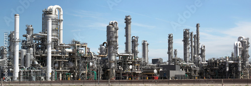 Fototapeta  Chemical factory- panorama image