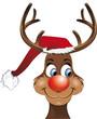 Rudolf das Weihnachts-Rentier