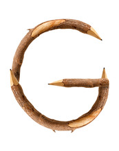 Pencil Wood, Letter G