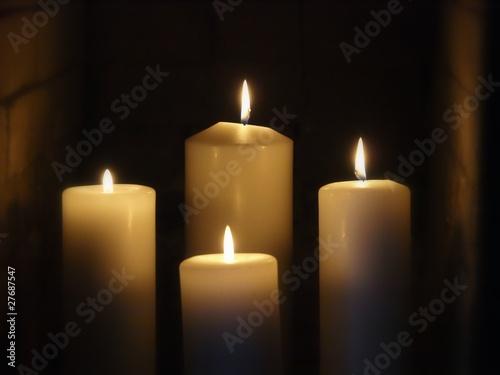 Fototapeta Candles obraz na płótnie