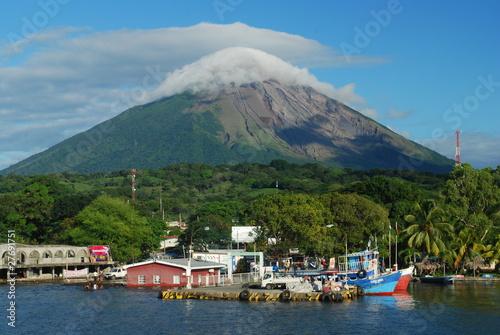 Photo sur Toile Bleu vert Ometepe, Nicaragua