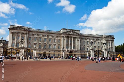 London, Buckingham Palast Canvas Print