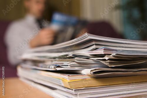 Valokuva  Magazines