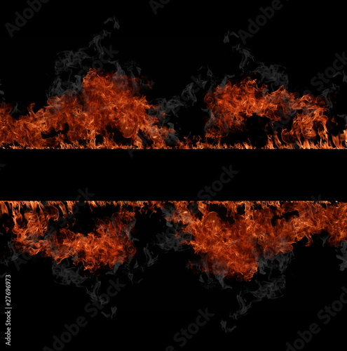 Foto op Plexiglas Vlam Fire stripe