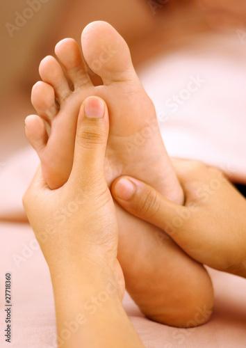 Fotografie, Obraz  Spa foot massage