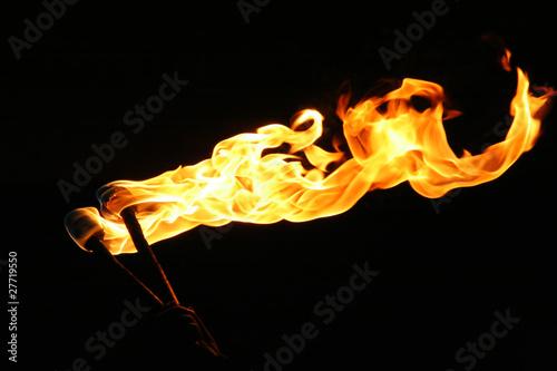 Cuadros en Lienzo burning torch