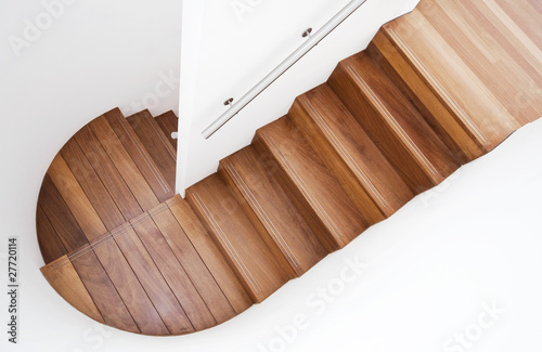 Photo Stands Stairs luxurious wooden staircase