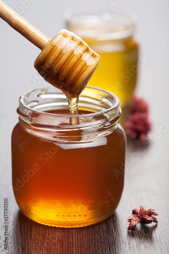 Valokuva  honey in jars