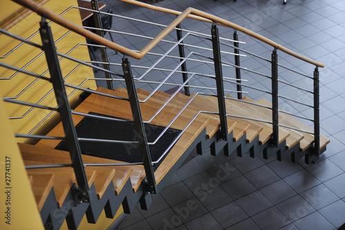 Obraz modern staircase - fototapety do salonu